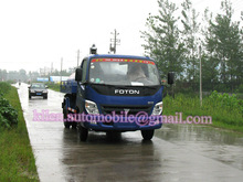 FOTON 4x2 waste water suction truck/ fecal suction truck