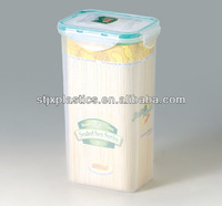 1800ml Plastic tall food box with sealed lid
