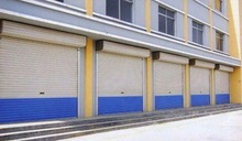 China hot sale used steel flush entry commercial doors