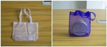 wedding decorating organza/cosmetics pouch sample/satin shoe bag