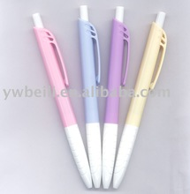 4 color retractable plastic ball pen well writing for office and school