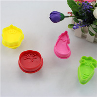 fashion vegetable plastic cake plunger cutter pie crust cutters cookie cutter mold