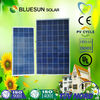 Blueun high quality 240w poly china solar panels cost