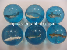 Funny 3D Fish Bounce Ball High Jumping Ball,Bouncy Ball