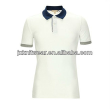 2012 new design fashion hot sell good quality short sleeve mens collared V-neck polo t shirt