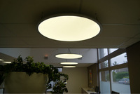 High brightness and big size LED round panel Lights from manufacturer