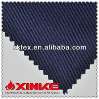 320GSM 100% Cotton Flame Resistant Fabric For Uniforms