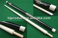Low price nice craft two-pc maple custom billiard cue stick/pool cue