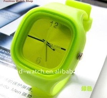 Discounted Jelly wrist watch / Cheap price jelly watches men