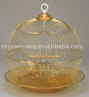 round foldable metal bird cage