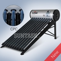 Suntask CPC high efficiency pressurized solar water heater SUS316L inner tank