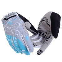 Gel Padded Full Finger Ladies Cycling Gloves