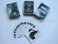 Paper playing cards, with your logo for promotion and gift