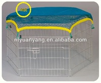 metal enclosure Folding Pet Playpen,Dog Playpen with Eight Panels