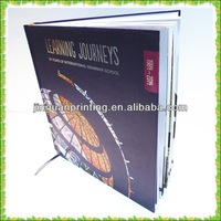 FSC certification professional book printing with hot stamping,spot UV