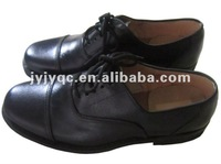First layer leather upper High quality women police shoes