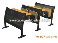 Good quality school desk and chair YA-007