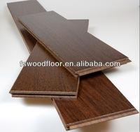 UV finished wenge solid wood flooring