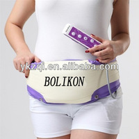Fat burning machine vibration belt lose belly fat electric shiatsu massage body slimming belt