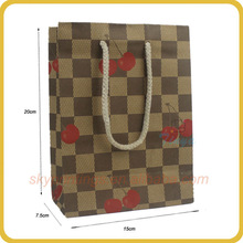 apple wrapping paper bag printed picture
