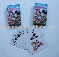 Game card, for kids with custom logo on cards and box, confirm to EN71
