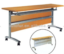 Modern Movable and Foldable Teacher Table with Wheels