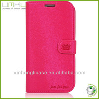 mobile phone leather flip cover for samsung galaxy s3 i9300 cases cover