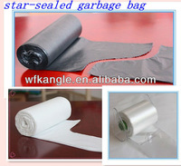 hdpe plastic star sealed garbage bags