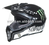 Dirt Bike Helmet wlt-128 New style cross helmet with visor
