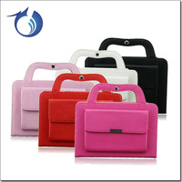 Most popular pu leather handbag case for ipad mini back cover