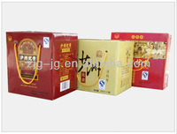 color printed 330/600ml beer carry case
