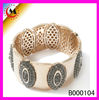 2013 latest bracelet zinc Indian customs and clothing accessories jewelry