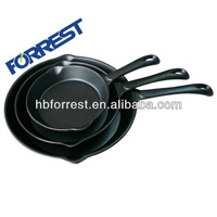 Cast iron 3 pcs cookware