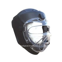 Head Guard Black Unbreakable Face Crystal Protector