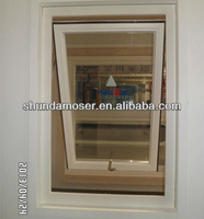 German style top hung double glazed awning window