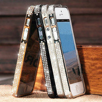 2013 New product attarctive bling diamond case for iphone 5s