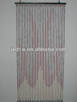 X'mas Design Handmade Bamboo Beaded Door Curtain