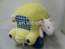 Plush colorful baby education Toy