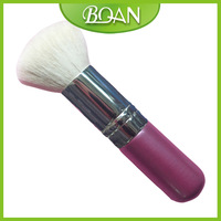 BQAN Pink Wooden Handle White Nylon Hair Kabuki Makeup Brushes