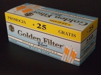 Best Selling Cigarette Tubes Golden Filter Light