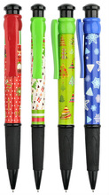 28 cm giant pens, christmas pen for kids ,28 cm ball pen