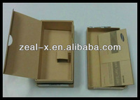 Kraft Brown Paper Empty Mobile Cell Phone Universal Phone Unlocking Boxes Paper Box