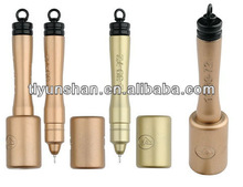Mini ballpen with Round tin pen holder