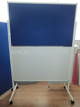 new products mobile combined whiteboard and fabric board stand