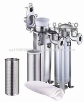 Top Loading Stainless Steel Liquid Filter bag Housing