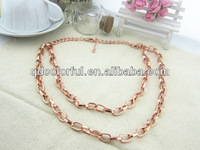 YN5118B chain plated wholesale artificial jewellery chain