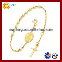 Wholesale Free Lucky Christian Rosary Bead Bracelet