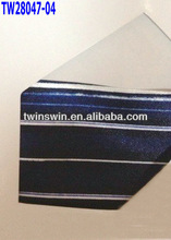2013 new fashion stripe printing 100% silk neck tie color card