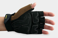 Half finger bicycle sport gloves