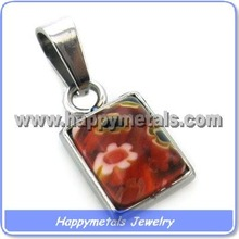 Happymetals <span class=keywords><strong>joyería</strong></span> <span class=keywords><strong>murano</strong></span> <span class=keywords><strong>piedra</strong></span> <span class=keywords><strong>de</strong></span> acero inoxidable